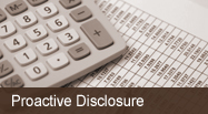 Proactive Disclosure